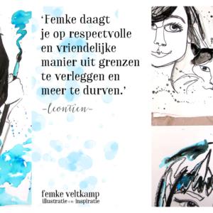 Femke Veltkamp illustratie reisgids tekenen schilderen Utrecht creatief illustreren creatieve coaching workshop