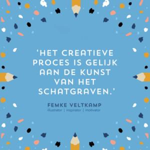 illustratie reisgids tekenen schilderen utrecht creatief creatieve proces Femke Veltkamp