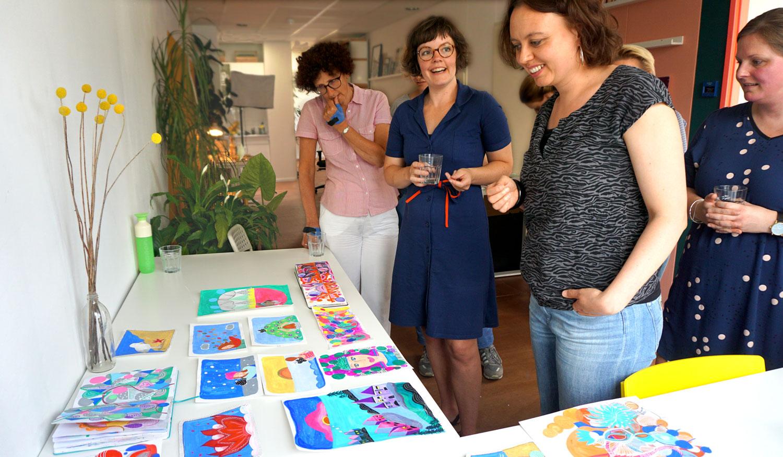 Femke Veltkamp illustratie reisgids tekenen schilderen utrecht