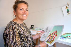 Jorina Verweij Femke Veltkamp illustreren workshop