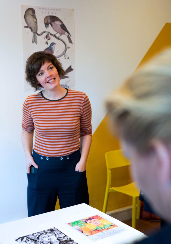 Illustratie mentor Femke Veltkamp