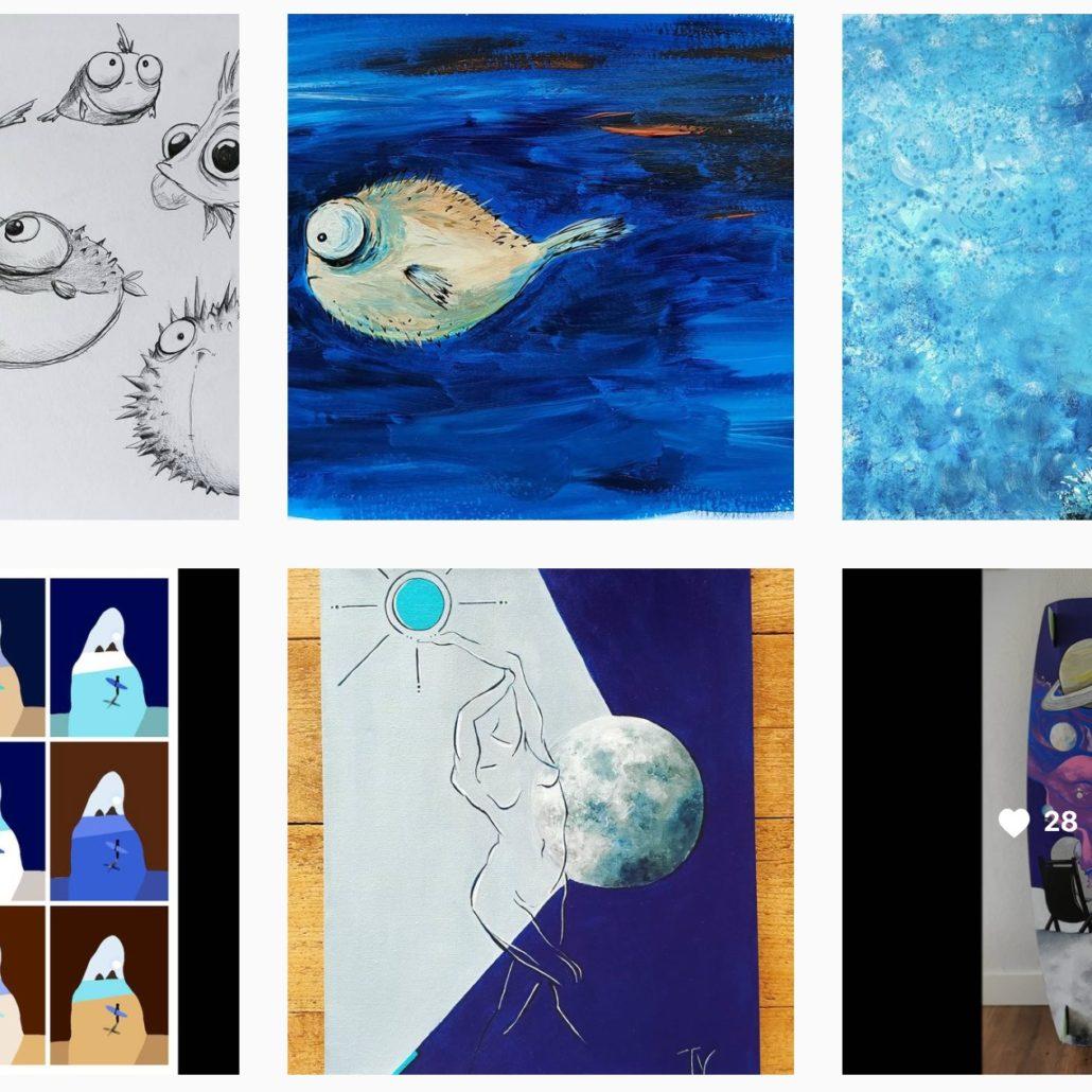 Illustraties wat je aandacht geeft groeit